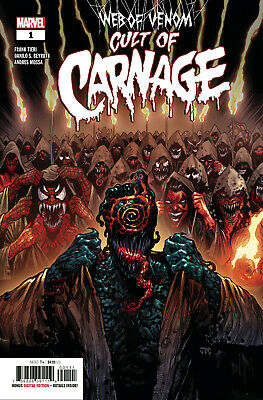 WEB OF VENOM CULT OF CARNAGE #1 Cover A Marvel 1st Print New NM Bagged Boarded