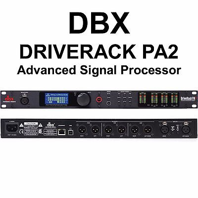 DBX DRIVERACK PA2 Complete PA Management System Processor