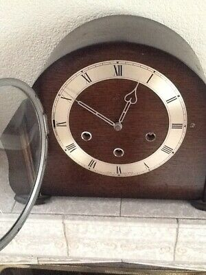 Smiths mantle clock, Westminster chime, good working order