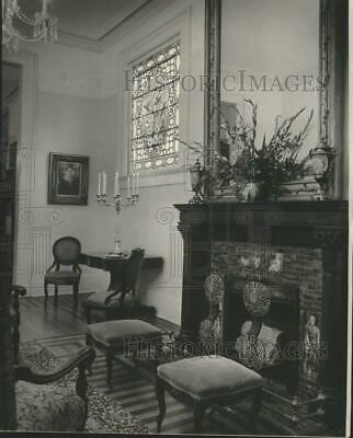 1975 Press Photo New Orleans Opera Guild House Music Room - nob97107