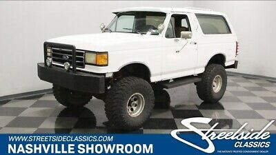 1990 Ford Bronco 4X4 Four wheel drive Bronco 4x4