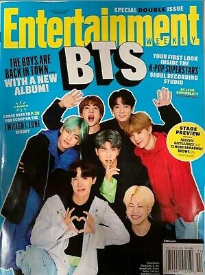 Bts Entertainment Weekly- K Pop Superstar  2019 No Mailing Labels