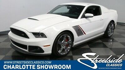 2014 Ford Mustang Roush Stage 3 fomoco chrome Roush black white illuminated door sill protectors 6 speed manual