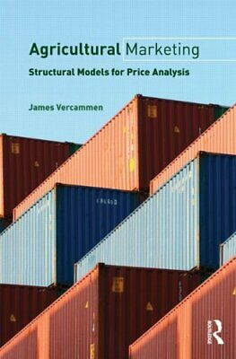 Agricultural Marketing : Structural Models for Price Analysis