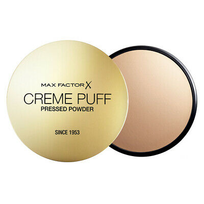 Max Factor Cream Puff Pressed Compact Powder, 21 g, 55 Candle Glow
