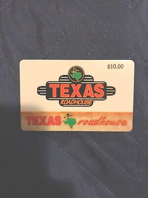 Brand New $10 Texas Roadhouse Gift Card!