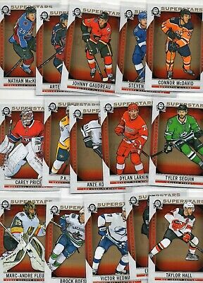 2018-19 OPC  Coast to Coast Superstars Complete Set 101-150