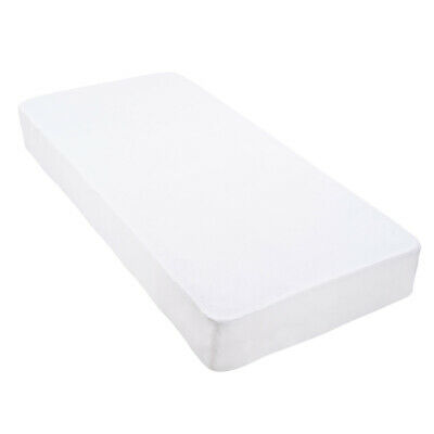 Fitted Cotton Microfiber Quilted Mattress Protector Topper Waterproof Double