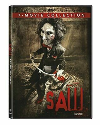 Saw 1 2 3 4 5 6 7-Movie Collection Unrated DVD BRAND NEW HORROR FACTORY SEALED