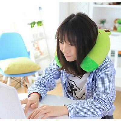 Travel Neck Pillow Memory Foam U Shaped Car Airplane Head Rest Support Pad