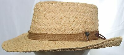 8a5462c6b5963 Dorfman Pacific Company Authentic Genuine SCALA Raffia Straw Hat Gambler Sz  L-XL