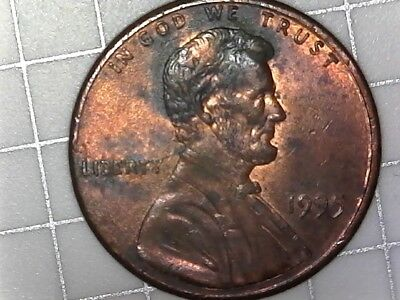 1995 Lincoln Penny Close AM circulated coin