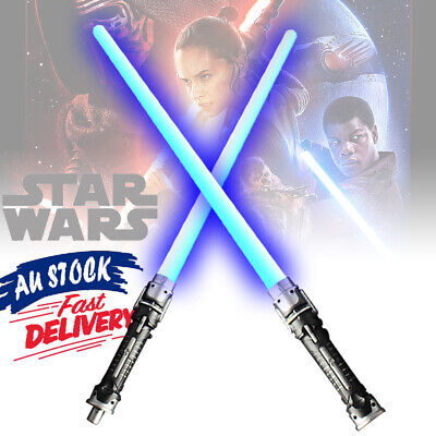 Sabers Sword Toys Weapons Cos For Star Wars Lightsaber LED Flashing Double Light