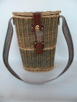 Avanti Carry Basket Case Insulated Wine Cooler for 2 bottles Picnic BYO