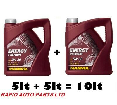MANNOL 5w30 Fully Synthetic BMW LL-04 German Car Engine Oil Low Saps C3 10 litre