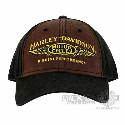 "Ricks Harley-Davidson Dealer Baseball - Cap ""Long B&S"" Mütze *BCC33668*"