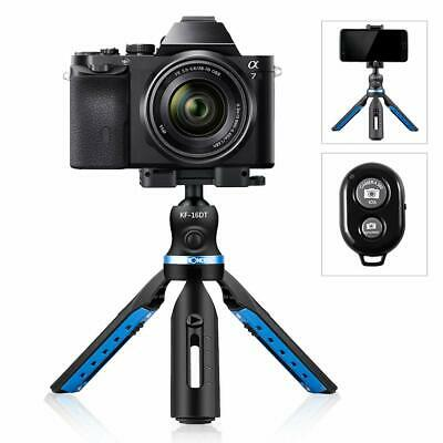 K&FConcept Tripod with Bluetooth Remote Shutter for DSLR Cameras Smartphone