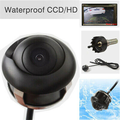 HD CCD Waterproof 360° Rotation Car Rearview Reverse Parking Camera Night Vision