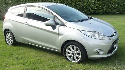 Ford Fiesta 1.4TDCi 2010.5MY Zetec ONE OWNER - FULL MOT £30 ROAD TAX