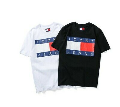Tommy Hilfiger Short Sleeve Crew Neck T-shirts For Mens