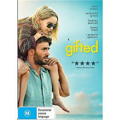 Gifted DVD 2017 M / All Movies $7.50 + Free Postage