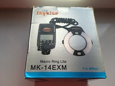 Skyblue MK-14EXM Macro ring flash with LED AF assist lam