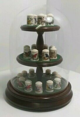 Franklin Mint Songbirds Of The World By Robin Hill 1983.