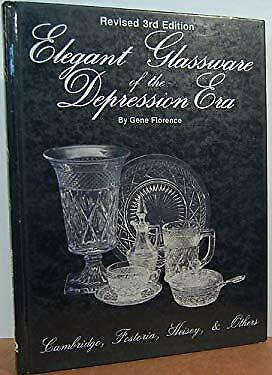 Elegant Glassware of the Depression Era : Identification and Value Gui-ExLibrary