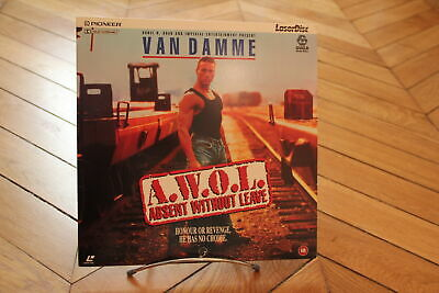 AWOL Absent without Leave Van Damme Laserdisc LD PAL UK