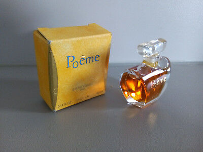 Lancome Collector Poeme Ml 4 Parfum Flacon Miniature Plein tsQhrd