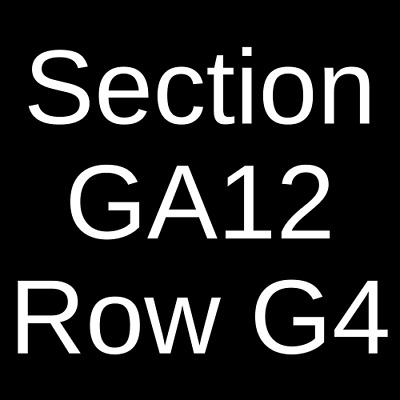 4 Tickets JoJo Siwa 7/14/19 Charleston, SC