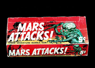 Topps Mars Attacks & Attack from Space 1 cent &  5 cent Display Box 5x7 photos