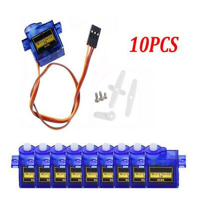 10pcs Micro RC Mini Servo SG90 9G für Helicopter Flugzeug Roboter Boat Airplane