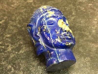 Old Lapis Lazuli Carved Head