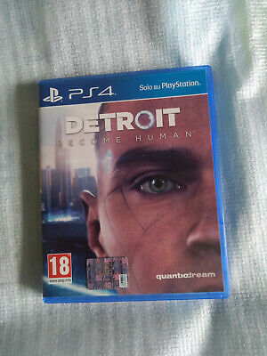 Detroit: Become Human PlayStation 4 come nuovo