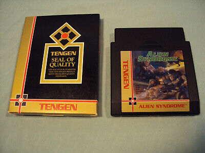 "Alien Syndrome NES Nintendo Original Classic Authentic Game ""TESTED"""