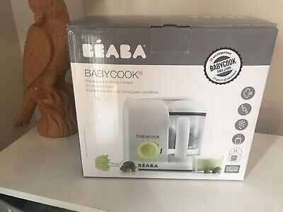 beaba babycook Baby Food Steam Cooker And Blender In One Neon New In Box