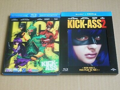Lot KICK-ASS Blu-ray - Edition speciale - bluray