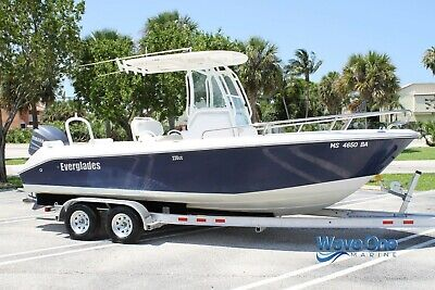 2011 Everglades 230 CC - Only 182 Hours! | Brand New Trailer | VIDEO TOUR
