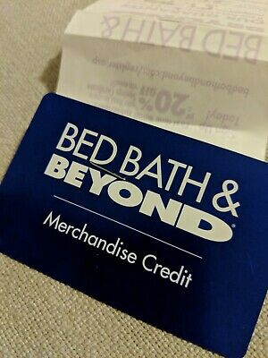 Bed Bath & Beyond Merchandise Credit $369.12 gift card and bedbath store