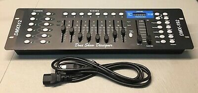 192 Channels DMX512 Controller Console Stage Light Party DJ Laser Operator READ