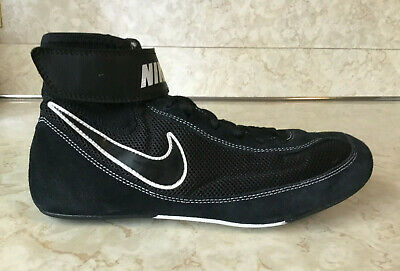 save off 8970a b14e6 Men s NIKE Speed Sweep VII Wrestling Shoe Size 10 366683-001 Black White NEW
