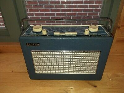 Hacker Sovereign 11 Sovereign 2 FM/MW/LW Blue, excellent sound, fully-working.