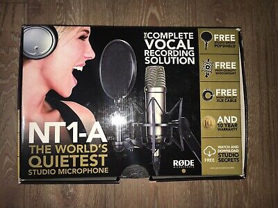 Rode NT1A Condenser Microphone *PURCHASED APRIL 2019* RRP: $258