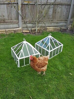 Antique Victorian Country house  Cloches  Garden Architectural