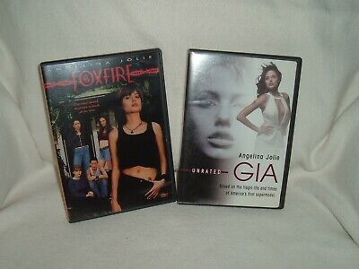 FOXFIRE and GIA  unrated  BOTH  WITH INSERTS     ANGELINA JOLIE    --- LOOK ---
