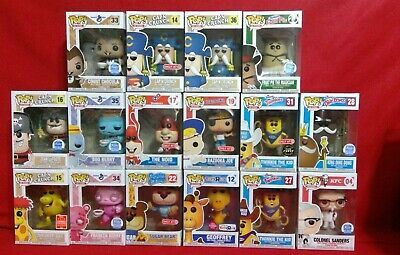 Funko Pop! Variation Of Ad Icons *Not A Lot Sale*Sold Separately*