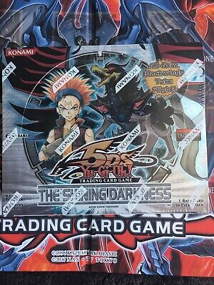 Yugioh The Shining Darkness 1st Edition Factory Sealed Booster Box