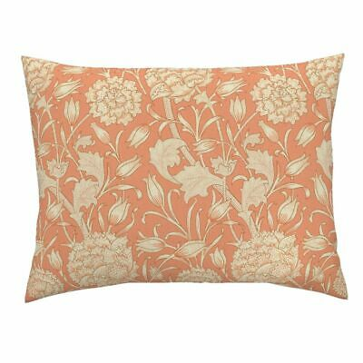 William Morris Arts And Crafts Antique Floral Tulip Pillow Sham by Roostery