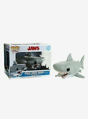 Funko Pop Movies #759 Jaws Great White Shark with Diving Tank Jaws In Stock